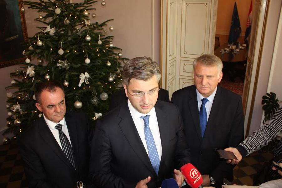Predsjednik Vlade RH Andrej Plenković posjetio Požeško-slavonsku županiju