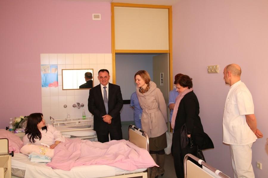 Ena Vitina prvorođena beba u Županiji u 2017. godini